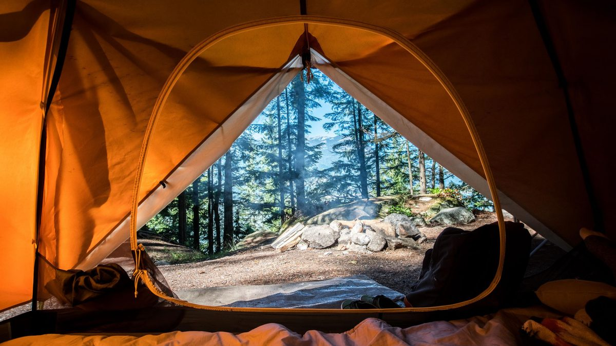 tenda, campeggio, igloo, dormire, scout